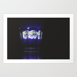 Glass Earth Art Print