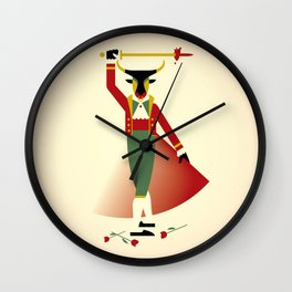 Toreador Wall Clock