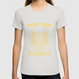 Muay Thai Kickboxing Fighter Tigers T-shirt