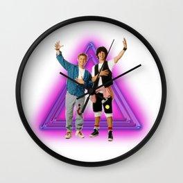 Stellar dudes Wall Clock