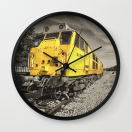 Class 31 at Exeter Riverside Wall Clock