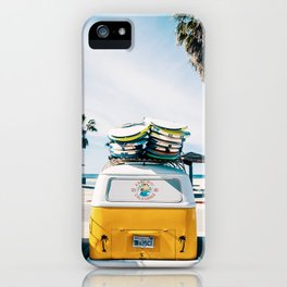 Surf van iPhone Case