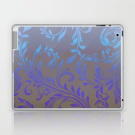 Ombre Damask Purple and Blue Laptop & iPad Skin