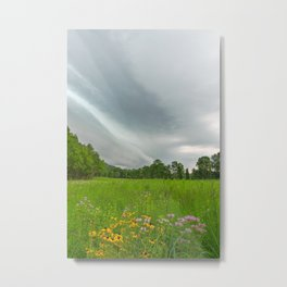 Brewing Summer Storm Metal Print