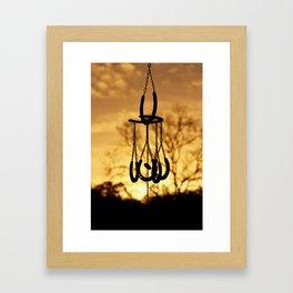 Country Living Sunrise Framed Art Print