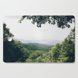 The Great Smoky Mountains Gatlinburg Tennessee Cutting Board