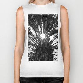 Palm Sun Burst! Biker Tank