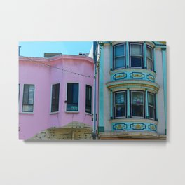 North Beach in Color Metal Print