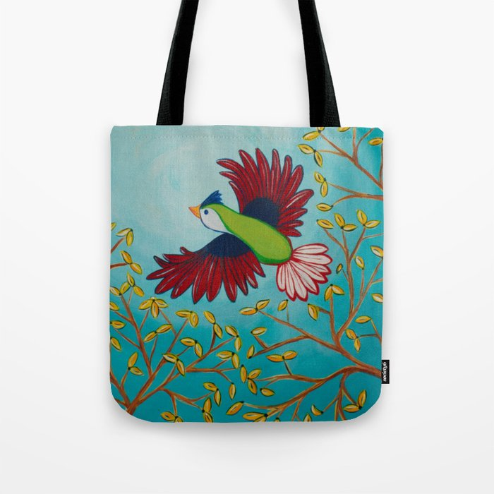 Kelly Bird Tote Bag