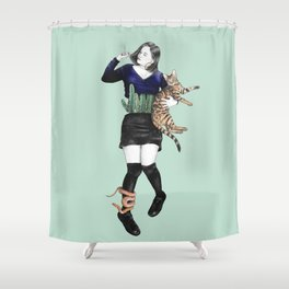 The Great Gaxi Shower Curtain