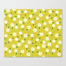 spring, yellow Canvas Print