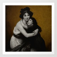 Tribute to Madame Lebrun Art Print