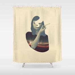 Smoking Series (v2) Shower Curtain