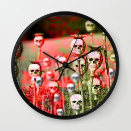 papi flower Wall Clock
