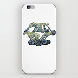 Faux Real - This is Not Typography iPhone Skin