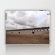 on the beach (Texel) Laptop & iPad Skin