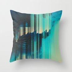 Rain on the Window Throw Pillow