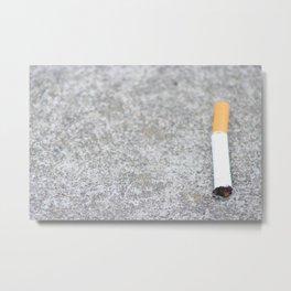 Cigaret  Metal Print