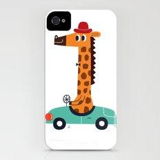giraffe driver iPhone (4, 4s) Slim Case