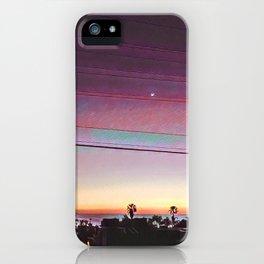 Cardiff Sunset iPhone Case