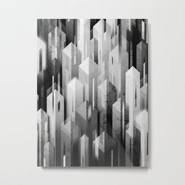 obelisk posture (monochrome series) Metal Print