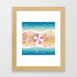 Summer Paradise Framed Art Print