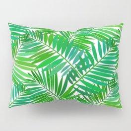 green leafs cool modern home trends Pillow Sham