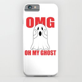 Oh My Ghost iPhone Case
