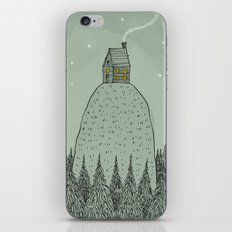 'The house on the hill' iPhone & iPod Skin