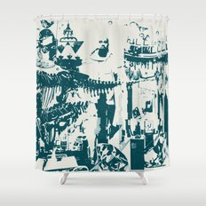Other side of the glass. Shower Curtain