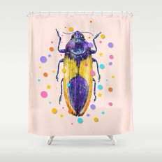 INSECT IX Shower Curtain
