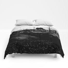 Empty Street Comforters