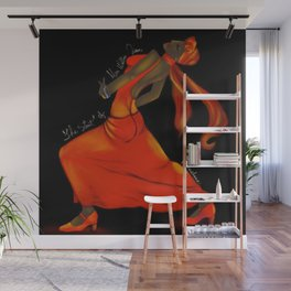 The Strut of Miss Willie Jean Wall Mural