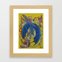 Curtains For You Framed Art Print
