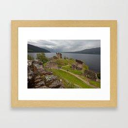 Urquhart Castle Framed Art Print