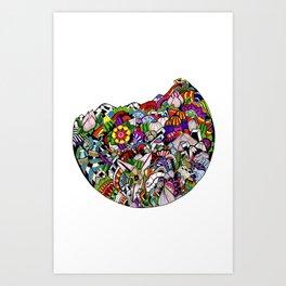 Verás el mundo según tus ojos Art Print