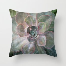 Succulant Throw Pillow