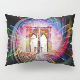 Abstract perfektion - Brooklyn Bridge Pillow Sham