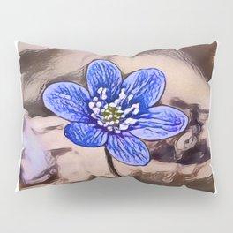 Liverleaf Dream | Painting  Pillow Sham