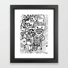 Mad Creativity Framed Art Print
