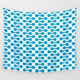 Background Fluid Dots Seamless Patterns Wall Tapestry