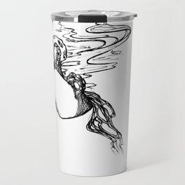 Black Coffee. Travel Mug