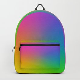 Fluorescent Gradient Rainbow Backpack