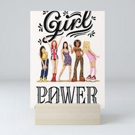 Girl Power Music Poster, 90s Spice Girls Print, Girlboss Gift for Her, Posh Baby Ginger Scary Sporty Fun Pop Art Wall Art Feminism Art Print Mini Art Print