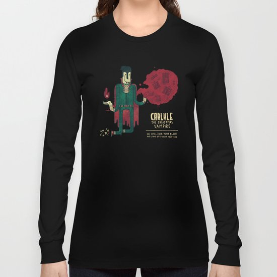 Carlyle, The Christmas Vampire Long Sleeve T-shirt