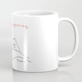 Not Snoring, Purring. Coffee Mug