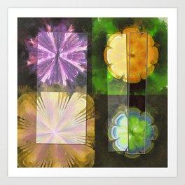 Feaster Truth Flower  ID:16165-131553-09981 Art Print