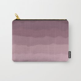 Gray Heather Fluff Gradient Carry-All Pouch