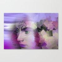 leave the broken dreams behind Canvas Print