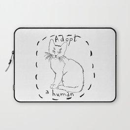 Adopt a Human Laptop Sleeve